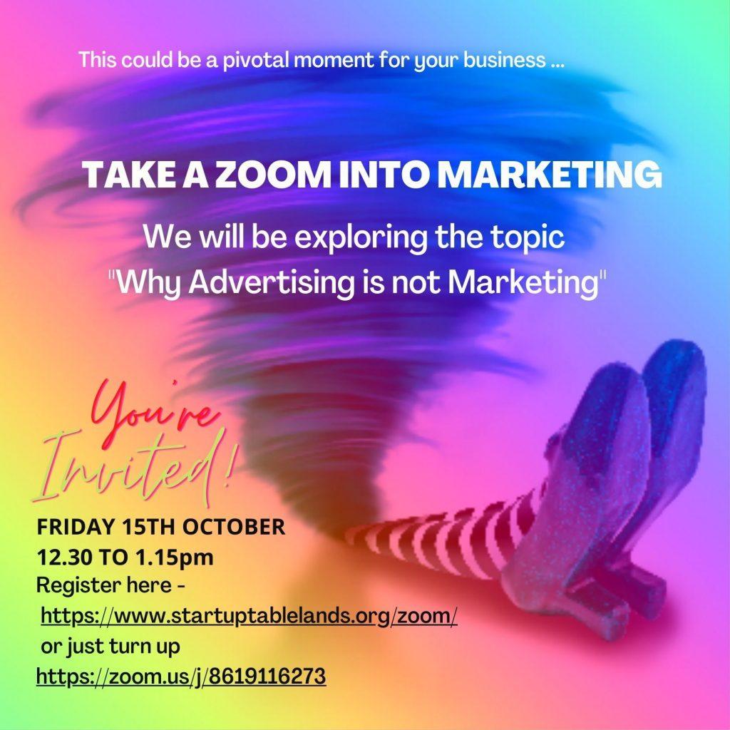 Take a Zoom into Marketing